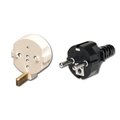 Power Cord - Schuko/Cont Europe w/Ground - (SA Series)(C19)