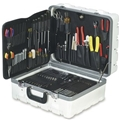 Biomedical Technician Tool Kit - Inch & Metric Tools - Hard Case